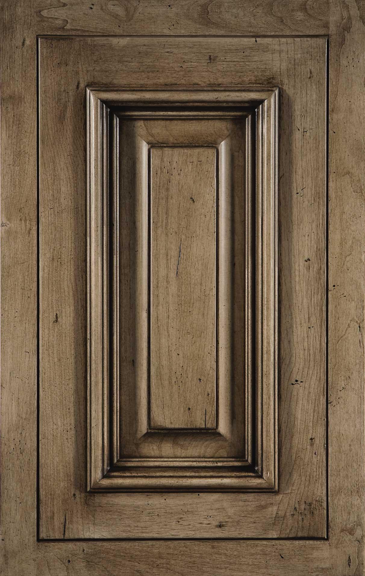 Camelot cabinet door in natural