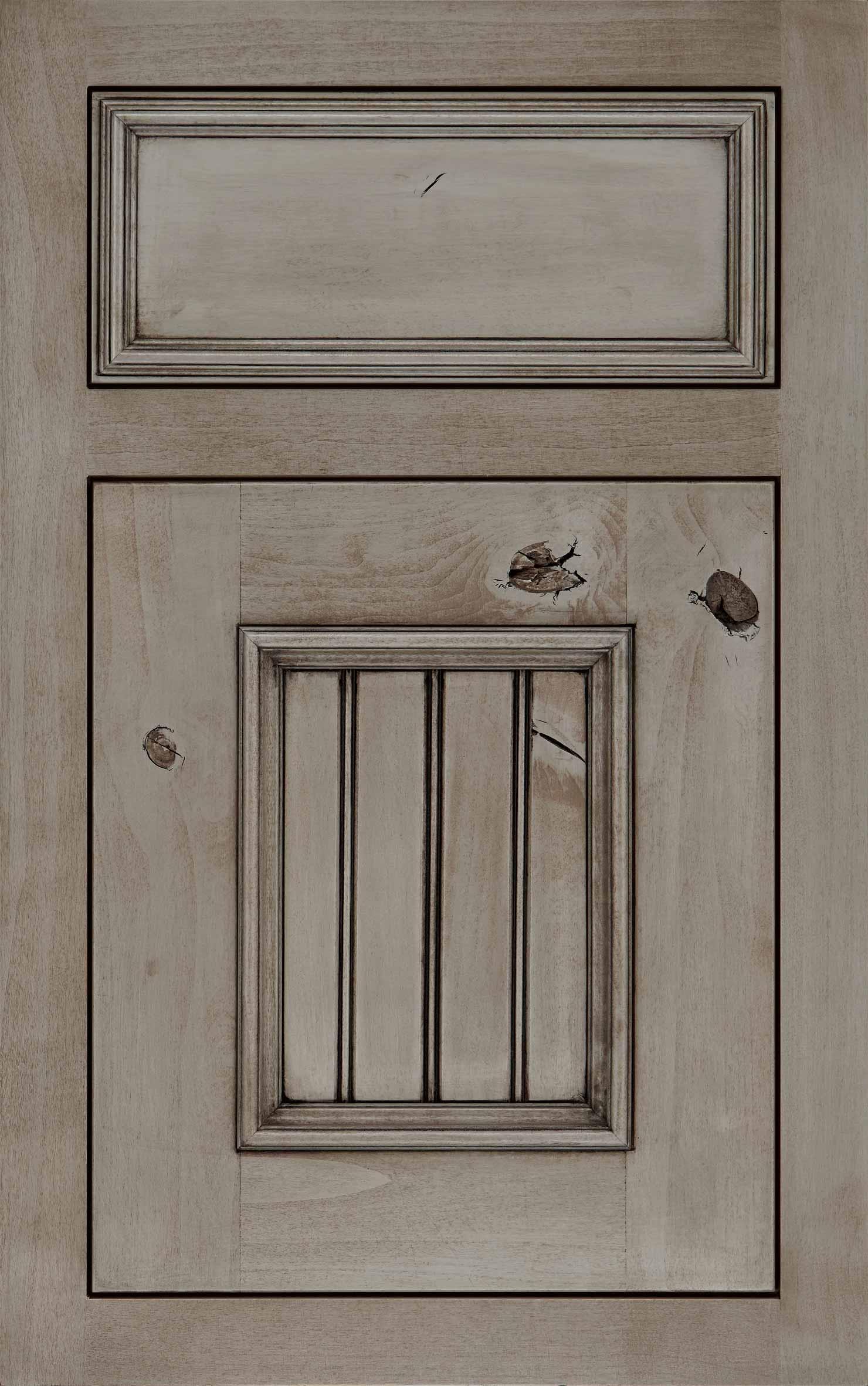 Catalina cabinet door in grey