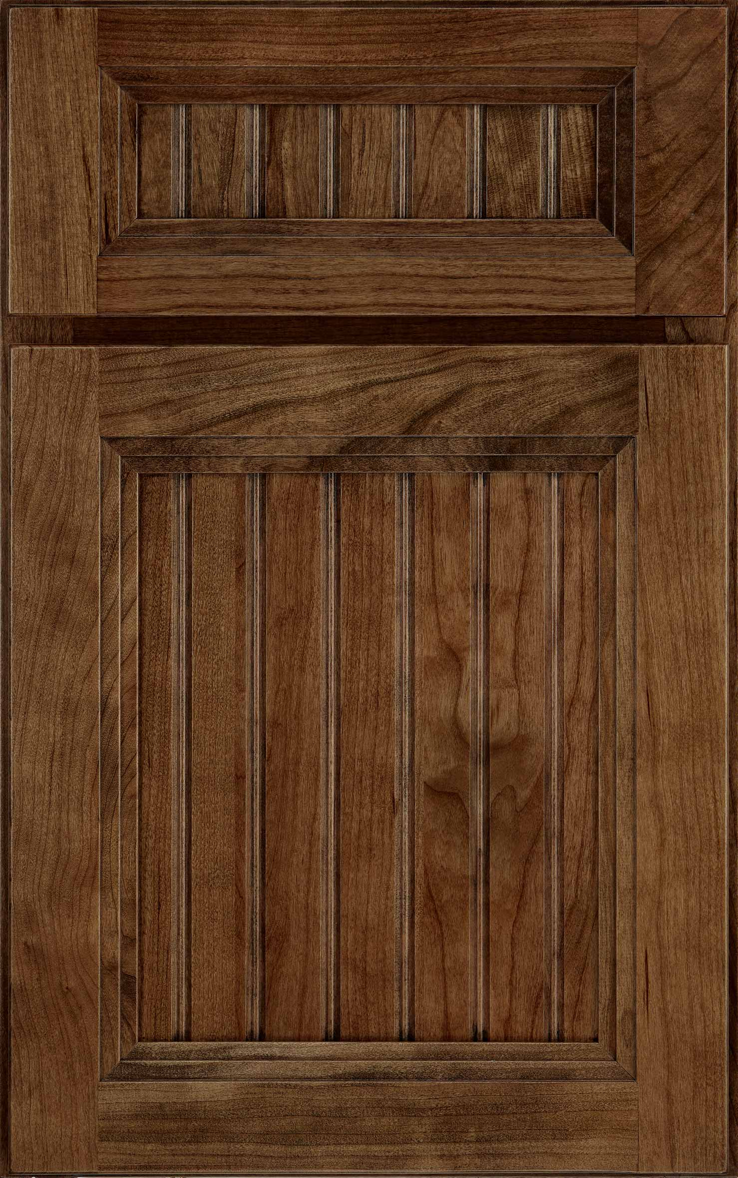 Craftsman cabinet door in dark