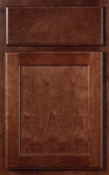 Flagstaff cabinet door in mahagony