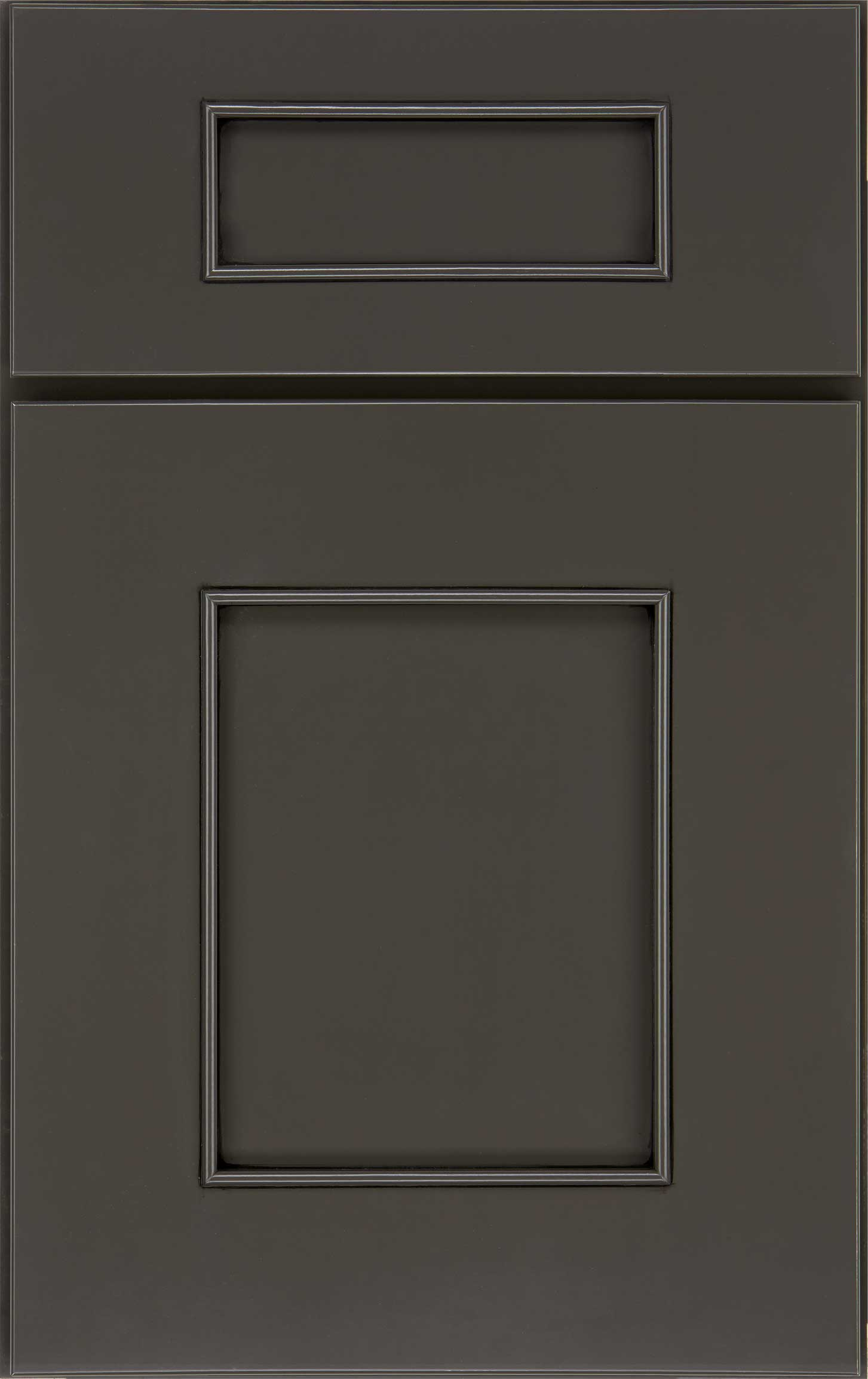 Loxley cabinet door in charcoal