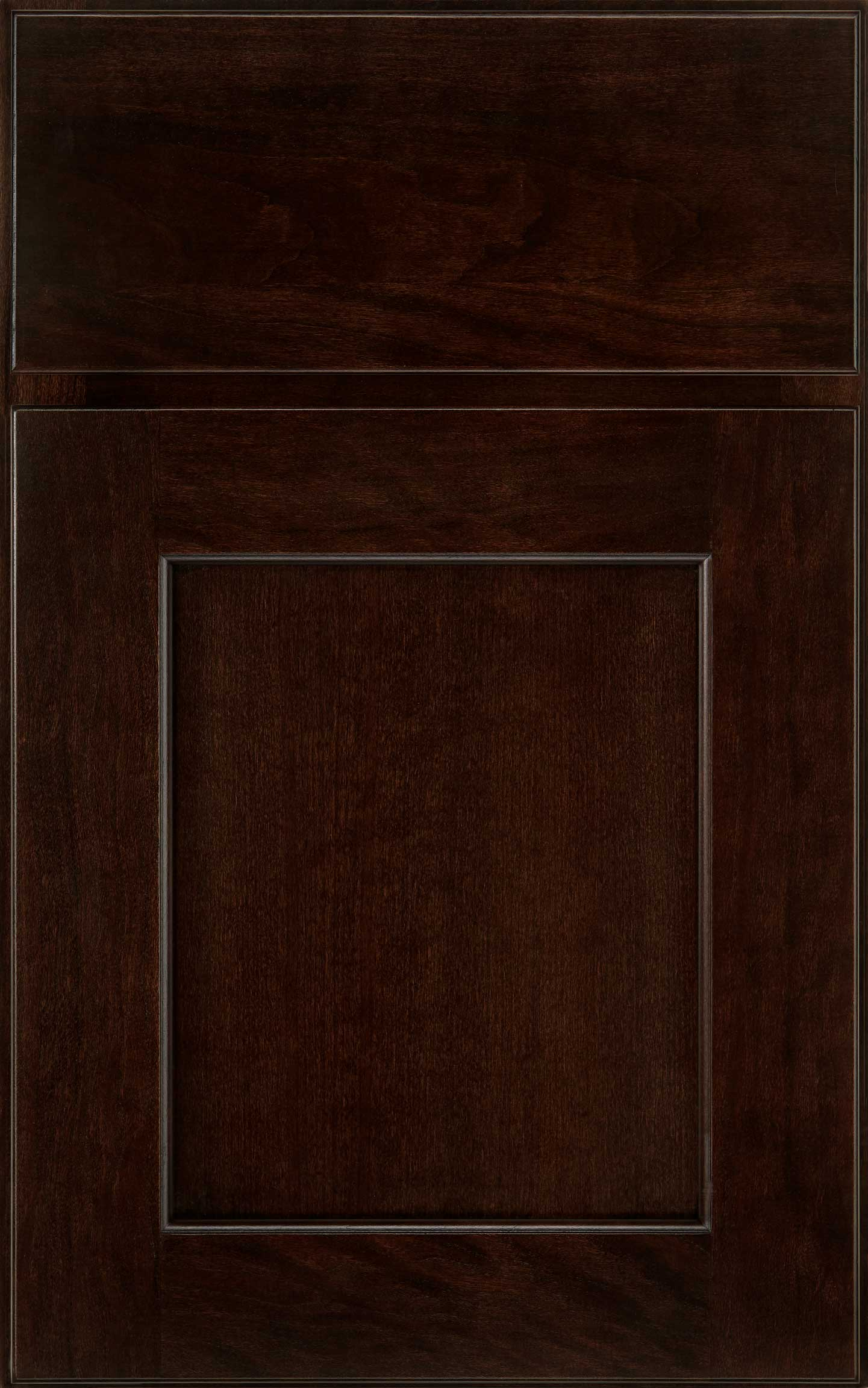 Park Place cabinet door in dark