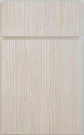 Ranier cabinet door in white