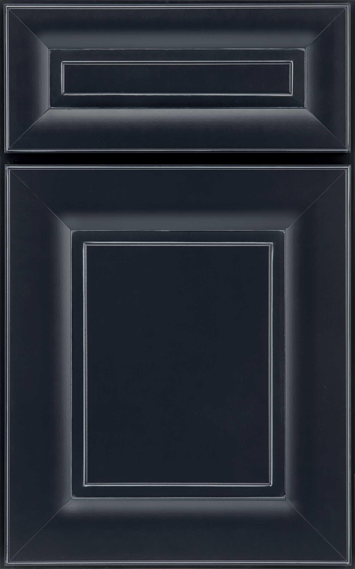 Venice cabinet door in blue