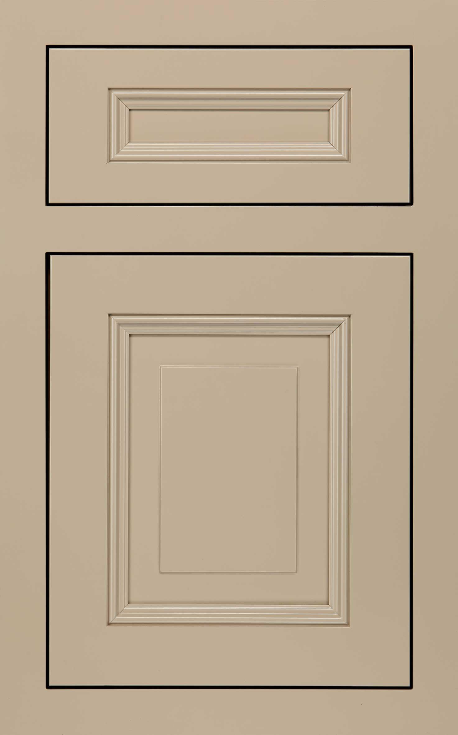 Wellington cabinet door in beige